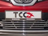 Рамка под номер для Nissan QASHQAI с логотипом