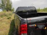 Накладки на борта Toyota HiLux (на боковые борта и задний откидной борт), изображение 2