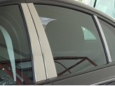 Хромированные накладки на дверные стойки для Jaguar XE из 6 частей, полир. нерж. сталь
