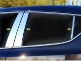 Хромированные накладки на дверные стойкиToyota C-HR