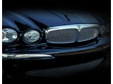 Решетка радиатора для Jaguar X-Type полир. нерж. сталь