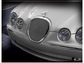 Решетка радиатора для Jaguar  S-Tupe полир. нерж. сталь