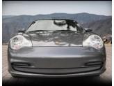Решетка радиатора для PORSCHE 911 CARRERA полир. нерж. сталь 1999-2001 г.