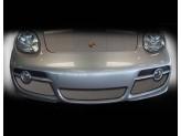 Решетка радиатора для Porsche Cayman полир. нерж. сталь 2005-2008 г.