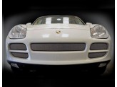 Решетка радиатора для Porsche Cayenne полир. нерж. сталь 2003-2006 г.