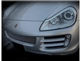 Решетка радиатора для Porsche Cayenne полир. нерж. сталь 2007-2010 г.