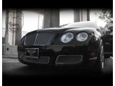 Решетка радиатора для Bentley Flying Spur полир. нерж. сталь