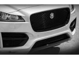 Решетка радиатора для Jaguar  F-PACE черная полир. нерж. сталь