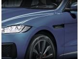 Решетки на воздуховоды для Jaguar  F-PACE, цвет черный