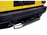 Защита-ступень заднего бампера под штатный квадрат 5 x 5 см