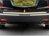 Хромированные накладки на задн. дверь для Cadillac XT5, полир. нерж. сталь