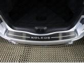 Хромированная накладка для Renault Koleos на задний бампер