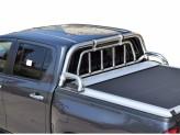 Защитная дуга 63 мм для Toyota HiLux кузов пикапа а комплекте с решеткой
