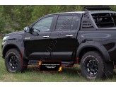 Расширители арок для Toyota HiLux 2015 г.-