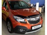 Дефлектор капота SIM для Opel Mokka, темный