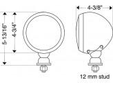 Галогеновые фары дальнего света H2 (комплект из 2-х шт), изображение 2