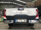 Накладка на откидной борт для Mercedes-Benz X-Class с логотипом