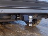 Фаркоп для Volkswagen Tiguan (оцинкованный, шар E нерж.), изображение 2