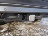 Фаркоп для Volkswagen Tiguan (оцинкованный, шар E нерж.), изображение 3