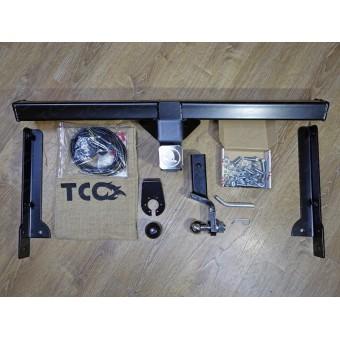 Фаркоп для Skoda  Kodiaq (провода, розетка, декоративная заглушка, чехол для крюка)