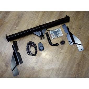 Фаркоп для Mazda CX 5 (провода, розетка)
