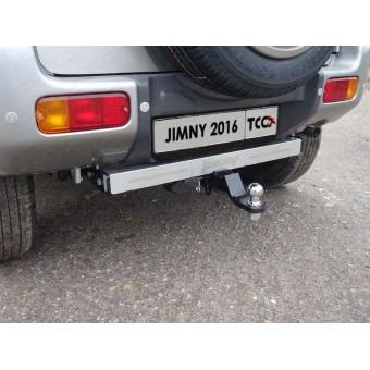 Фаркоп для (оцинкованный, надпись Jimny, шар E)