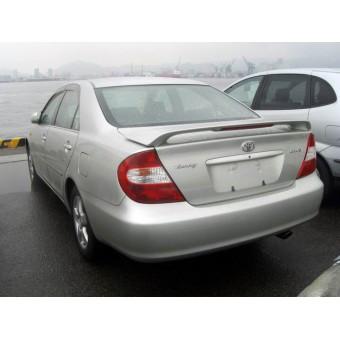 Спойлер крышки багажника (грунтованный ABS пластик, для седан) для 2003-2009 г.