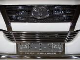 Рамка под номер для Toyota Fortuner с логотипом