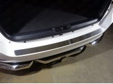 Хромированная накладка на задний бампер для Toyota Fortuner