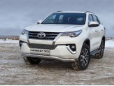 "Защита передняя ""ВОЛНА"" для Toyota Fortuner нижняя 76 мм"