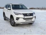 Защита передняя для Toyota Fortuner нижняя 76 мм
