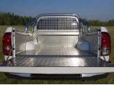 Защита кузова и заднего стекла Toyota HiLux 76 мм