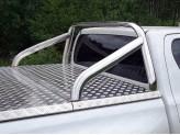 Защита кузова Toyota HiLux 75 х 42 мм