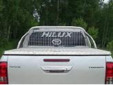 Защита кузова и заднего стекла Toyota HiLux 75 х 42 мм