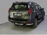 Защита задняя для Toyota Landcruiser Prado 150 75 х 42 мм