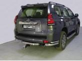 Защита задняя для Toyota Landcruiser Prado 150 76/42 мм