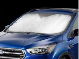 Солнцезащитный экран на лобовое стеклоRange Rover Velar, цвет серебристый/черный