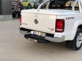 """Задняя подножка """"Titanic Plus"""" для Volkswagen Amarok с логотипом, изображение 3"""