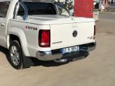 """Задняя подножка """"Titanic Plus Chrome"""" для Volkswagen Amarok с логотипом, изображение 2"""