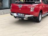 """Задняя подножка """"Titanic Plus Chrome"""" для Fiat Fullback с логотипом, изображение 3"""