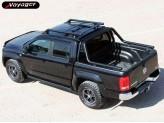 """Защитная дуга """"ACTION"""" для Volkswagen Amarok в кузов пикапа (D-76 мм), изображение 3"""
