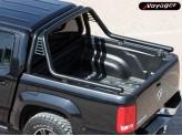 """Защитная дуга """"ACTION"""" для Volkswagen Amarok в кузов пикапа (D-76 мм), изображение 2"""