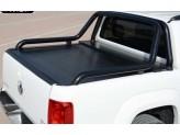 """Алюминиевая крышка """"ROLL-ON"""" на Volkswagen Amarok с дугой """"PROBAR"""""""