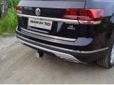 Хромированная накладка для Volkswagen Teramont на на заднюю дверь