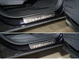 Хромированные накладки на пороги для Volkswagen Teramont из 4 ч. 4шт