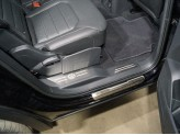 Хромированные накладки для Volkswagen Teramont на пластиковые пороги задние из 4 ч.