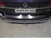Хромированная накладка для Volkswagen Teramont на задний бампер