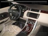 Декор салона  Range Rover Evogue