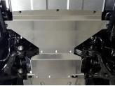 Защита картера для Kia Mohave 4 мм