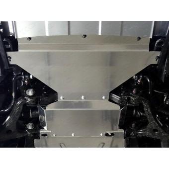 Защита картера для Kia Mohave (алюминий) 4 мм
